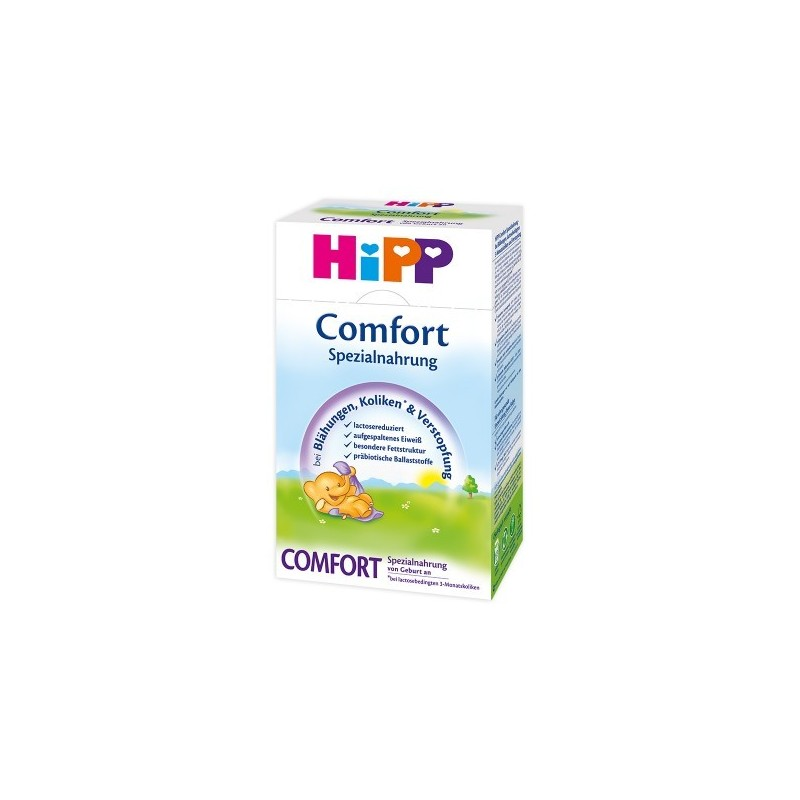 HiPP German Comfort (0 Months+) Special Infant Milk Formula (500g/18oz) - 4 Pack