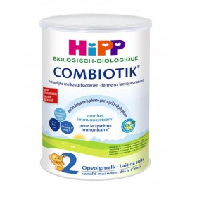 HiPP Dutch Stage 2 (6-12 months) Organic Combiotic Follow On Infant Milk Formula (900g/32oz) - 12 Pack