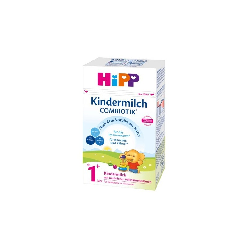 HiPP German BIO Combiotik Kindermilch 1+ (600g/21 oz) - 4 Pack