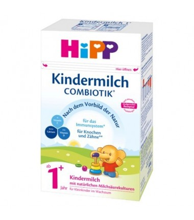 HiPP German BIO Combiotik Kindermilch 1+ (600g/21 oz) - 6 Pack