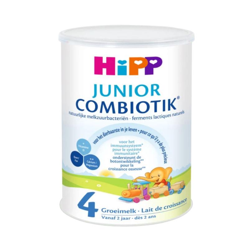 HiPP Dutch Stage 4 (24 months +) Combiotic Junior Milk Formula (800g/28oz) - 4 Pack