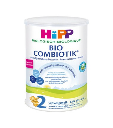 HiPP Dutch Stage 2 (6-12 months) Organic Combiotic Follow On Infant Milk Formula (800g/28oz) - 6 Pack