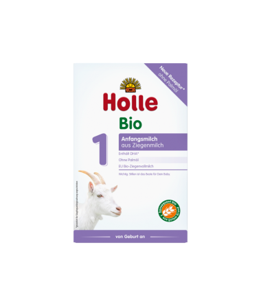 Holle Goat Stage 1 (0-6 months) Organic (Bio) Infant Milk Formula (400g/14oz)