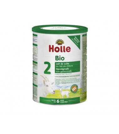 Holle Goat Stage 2 (6 months+) Organic (Bio) Follow On Infant Milk Formula (800g/28oz) - 3 Pack - New Size
