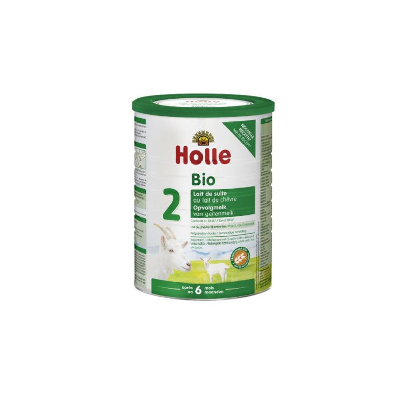 Holle Goat Stage 2 (6 months+) Organic (Bio) Follow On Infant Milk Formula (800g/28oz) - 4 Pack - New Size