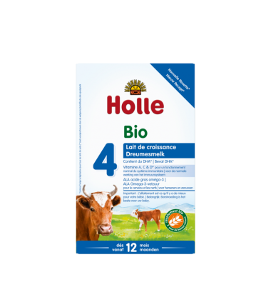 Holle Stage 4 (12 months+) Organic (Bio) Infant Milk Formula (600g/21oz) - 10 Pack