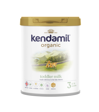 Kendamil Stage 3 (12 Months+) Organic Toddler Milk (800g/28oz) - 4 Pack