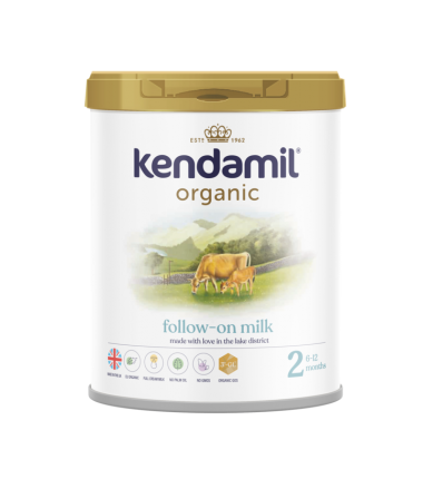Kendamil Stage 2 (6-12 Months) Organic Follow On Milk (800g/28oz) - 8 Pack