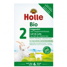 Holle Goat Stage 2 (6 months+) Organic (Bio) Follow On Infant Milk Formula (400g/14oz) - 10 Pack